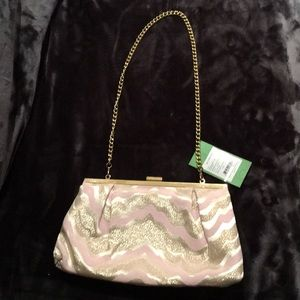 Lilly Pulitzer Opening Night Clutch/Evening Bag